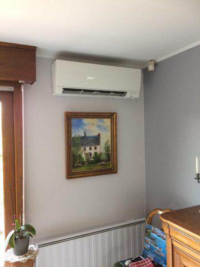 PAC air-air intérieure murale